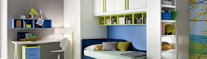 Soluzioni per camerette piccole scrivanie per camerette - Soluzioni camere da letto piccole ...